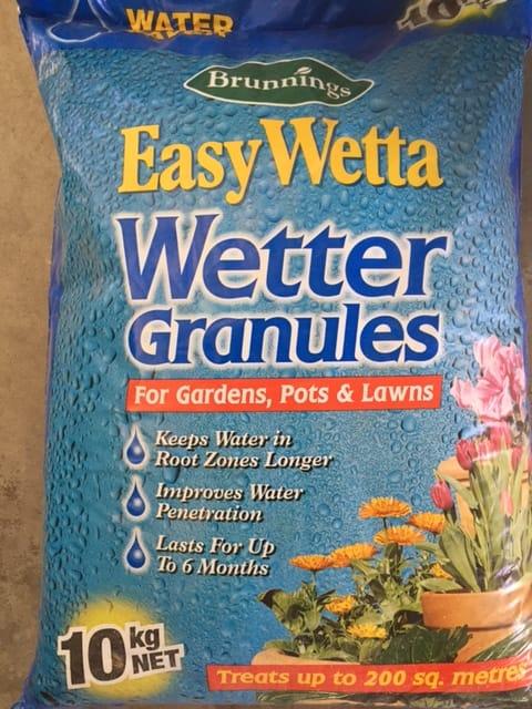 Wetter Soil